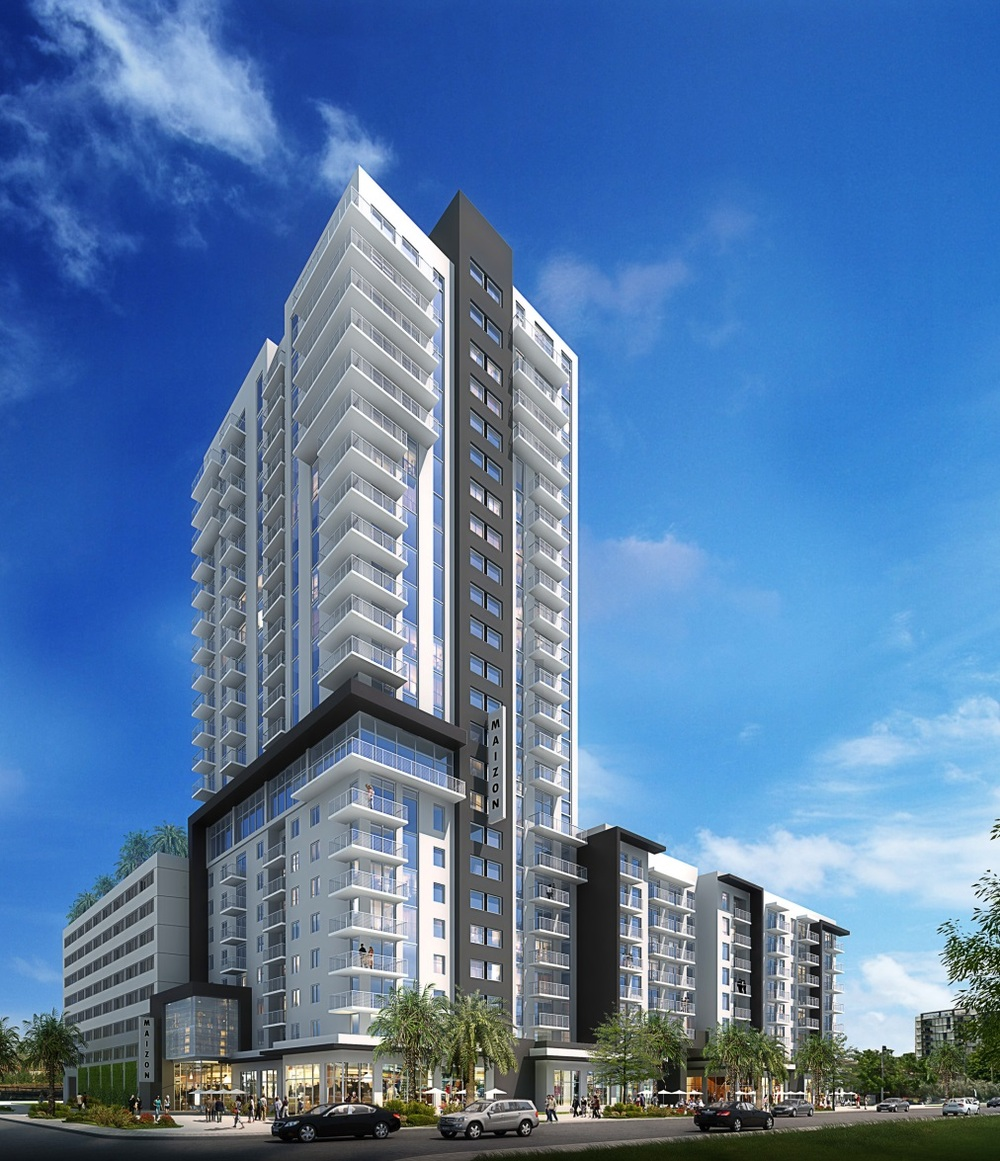 Maizon at Brickell Rendering