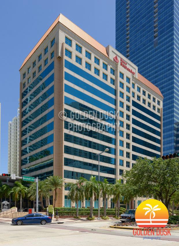 Banco Santander Building on Brickell Avenue