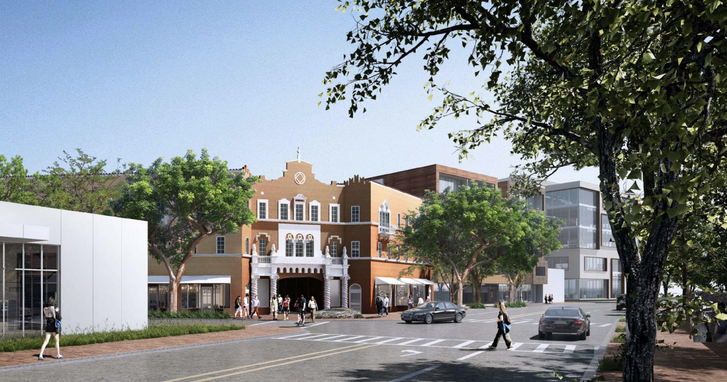 Coconut Grove Playhouse Rendering
