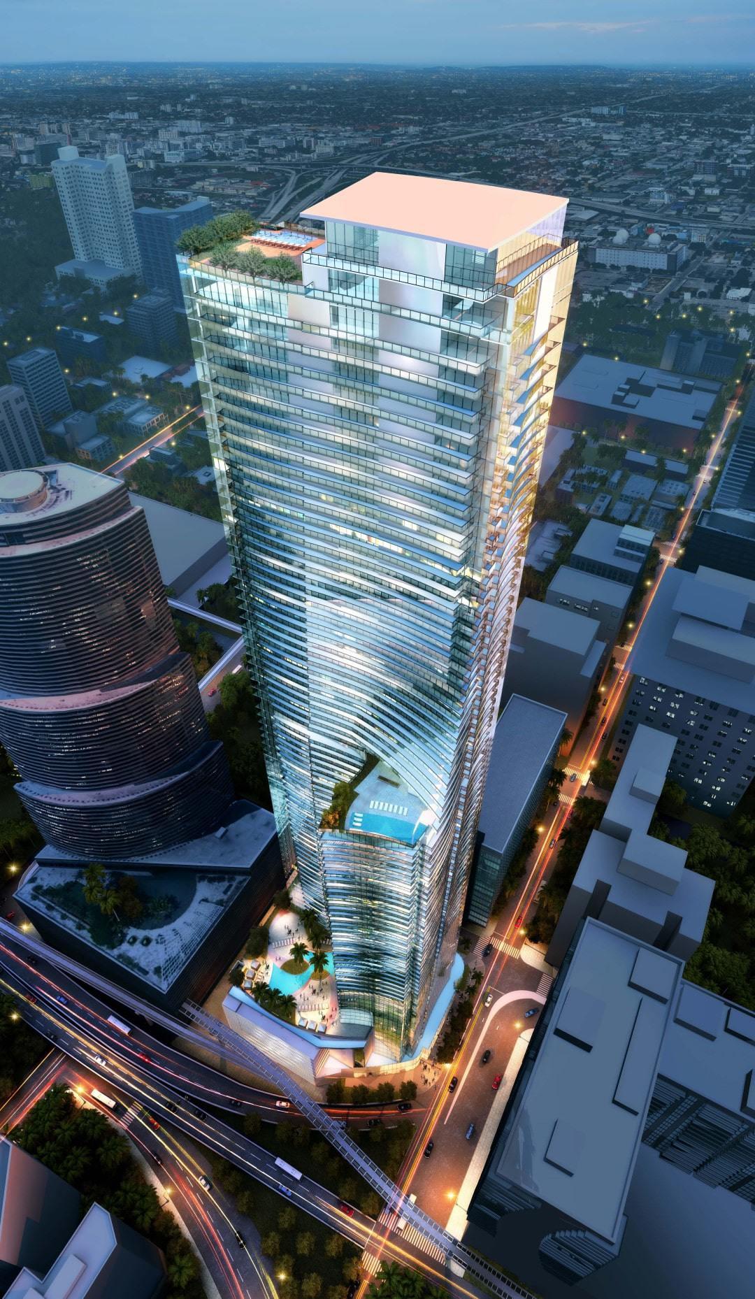 Rendering of 82 Story Tower
