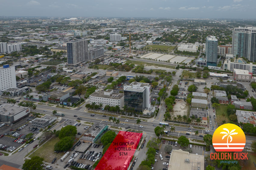 3047 Biscayne Blvd Site in Red