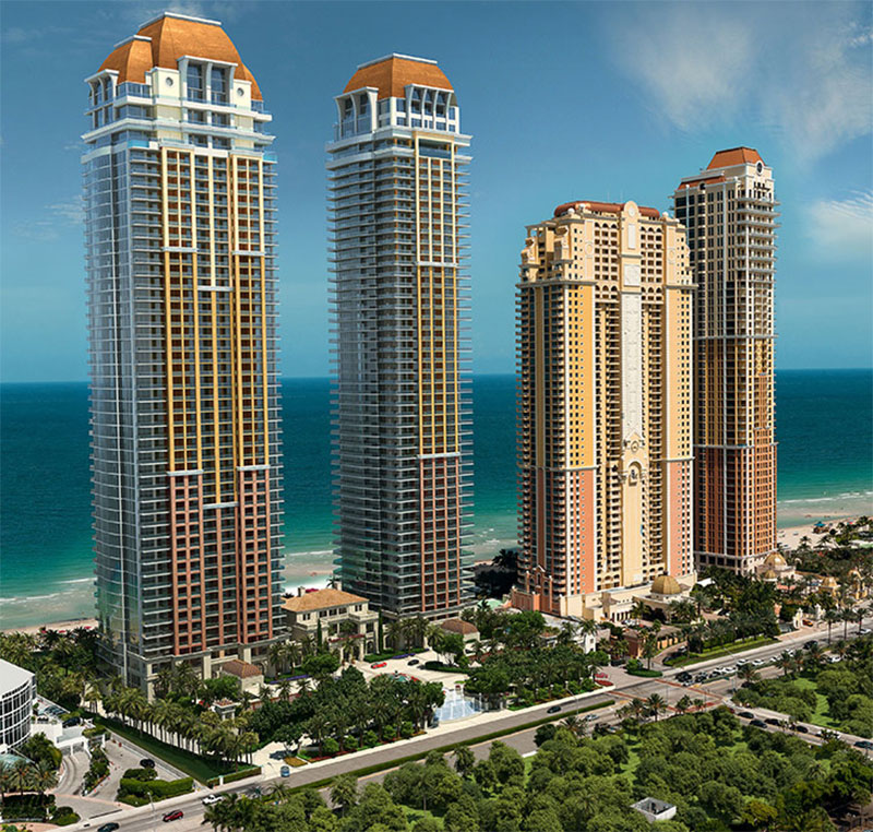 The Estates at Aqualina Rendering