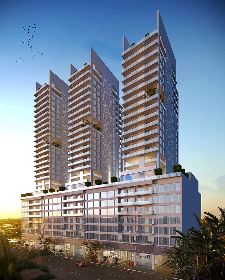 Smart Brickell Rendering