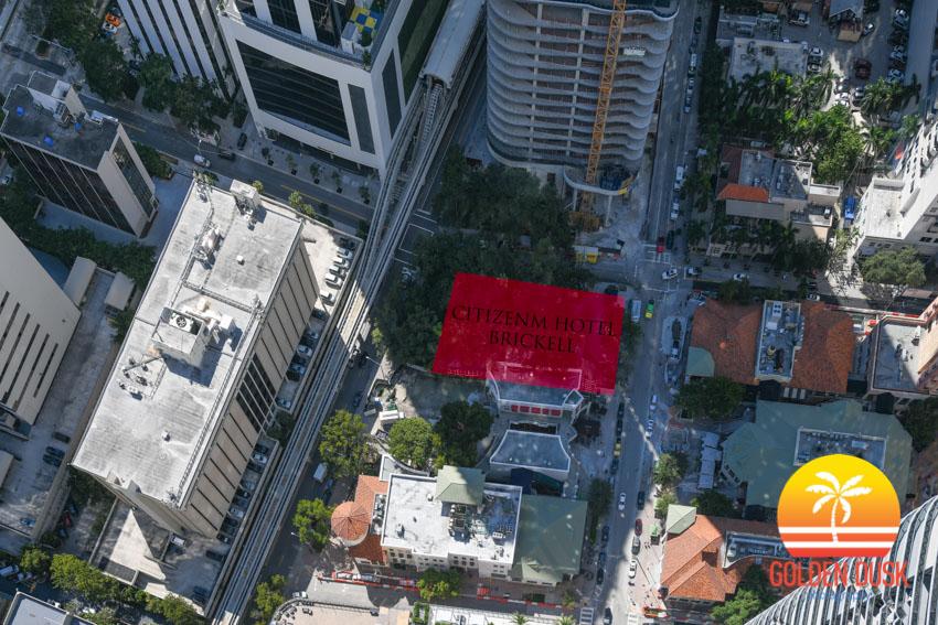 CitizenM Hotel Brickell Site