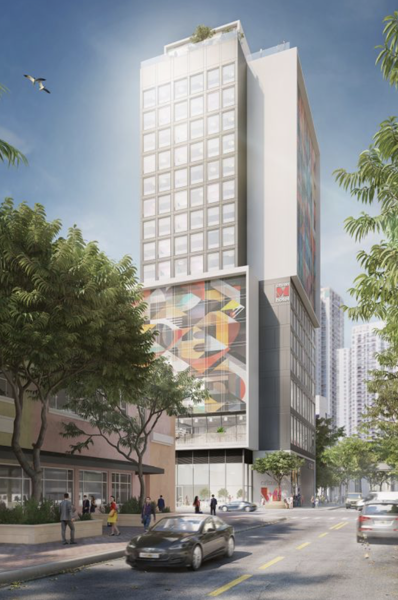 CitizenM Hotel Brickell Rendering