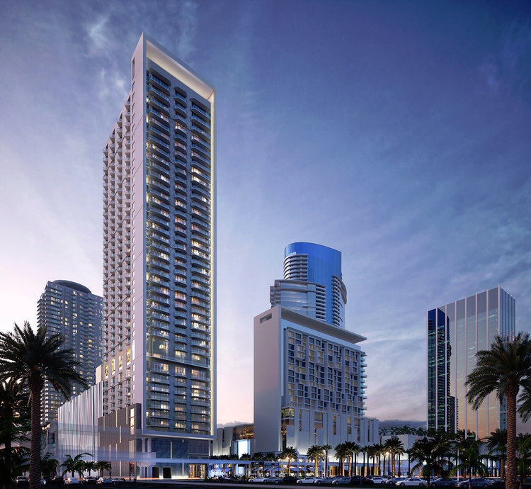 Luma at Miami Worldcenter Rendering