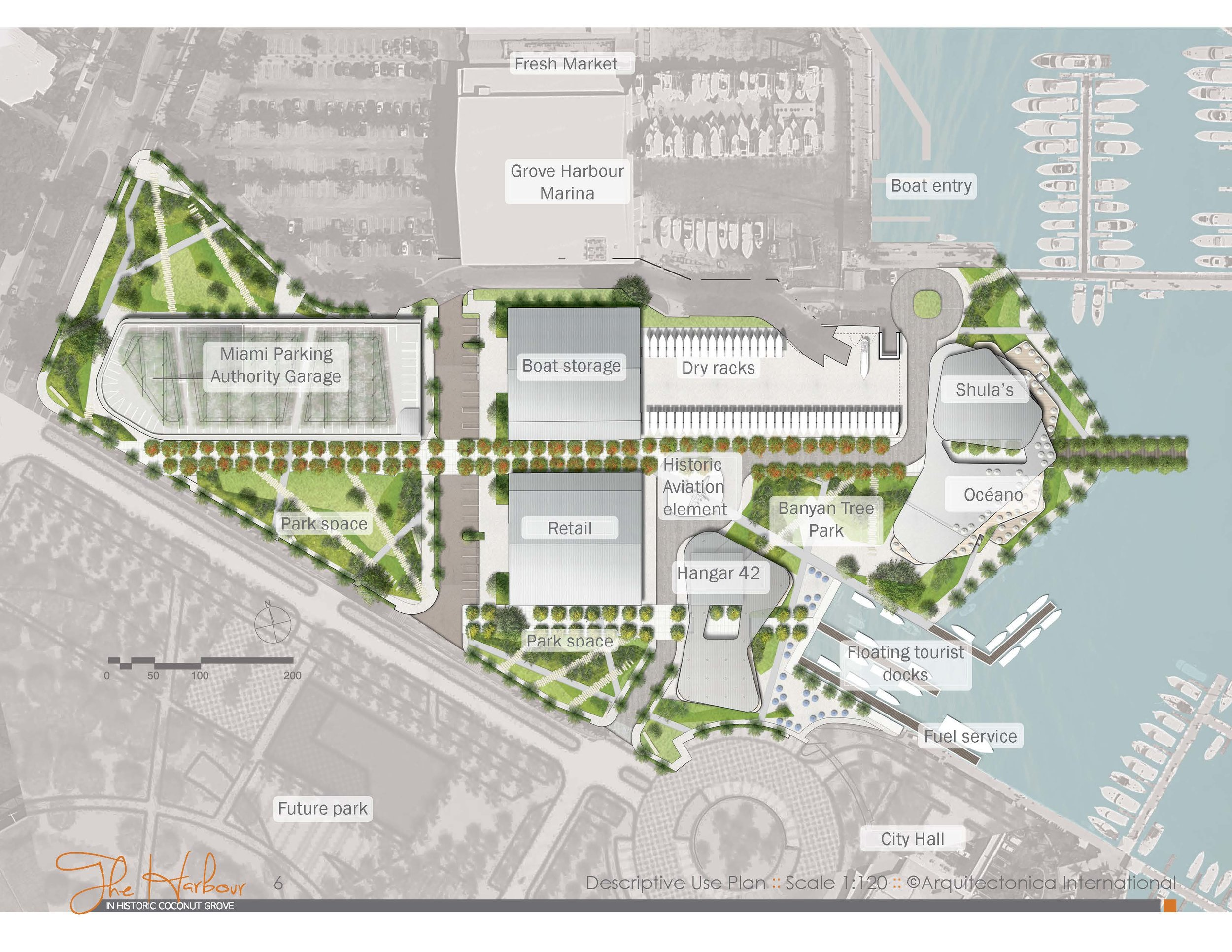 Regatta Harbour Site Plan