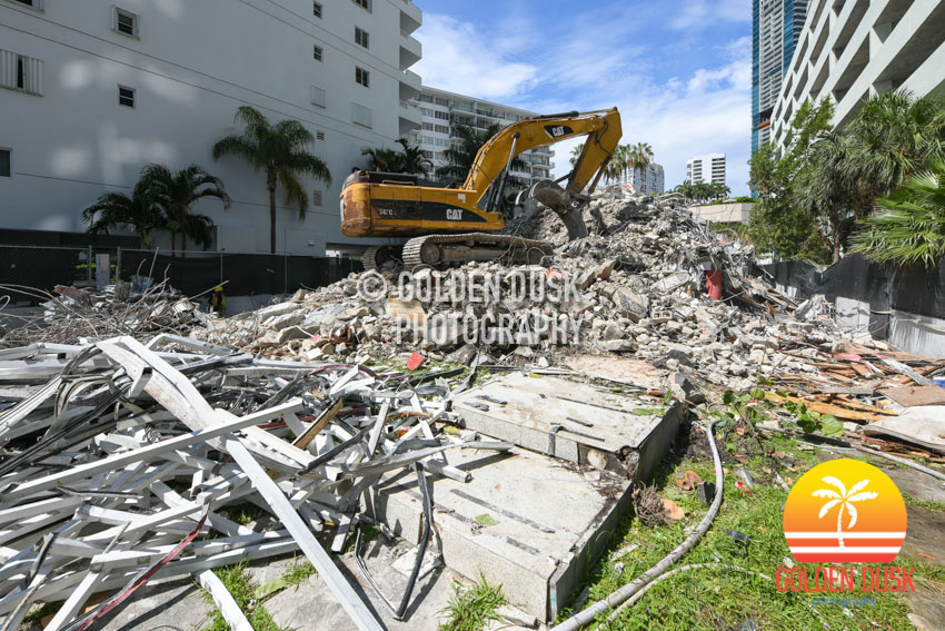 Babylon Apartments Demolished