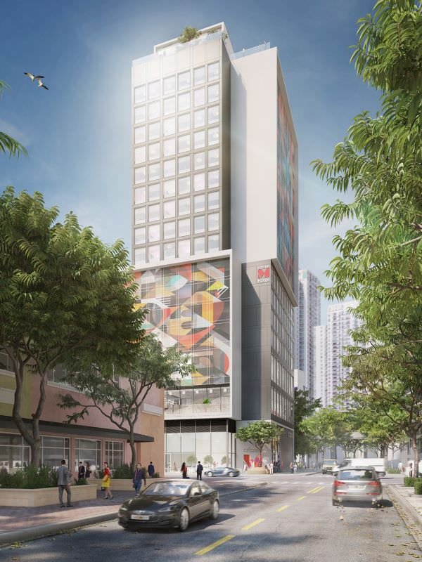CitizenM Brickell Rendering