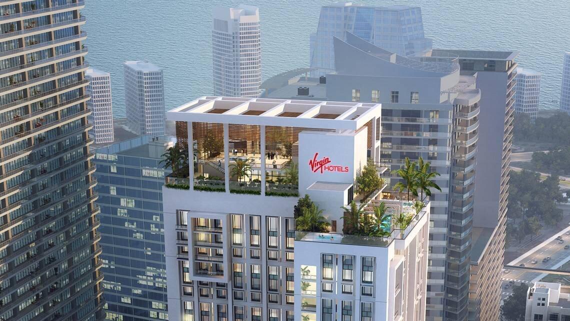 Virgin Hotels Rendering