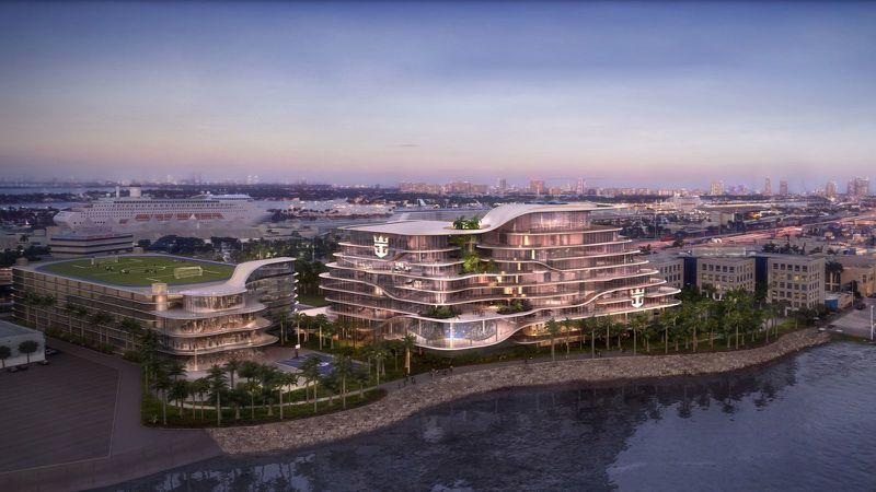 Royal Caribbean Miami Headquarters Rendering