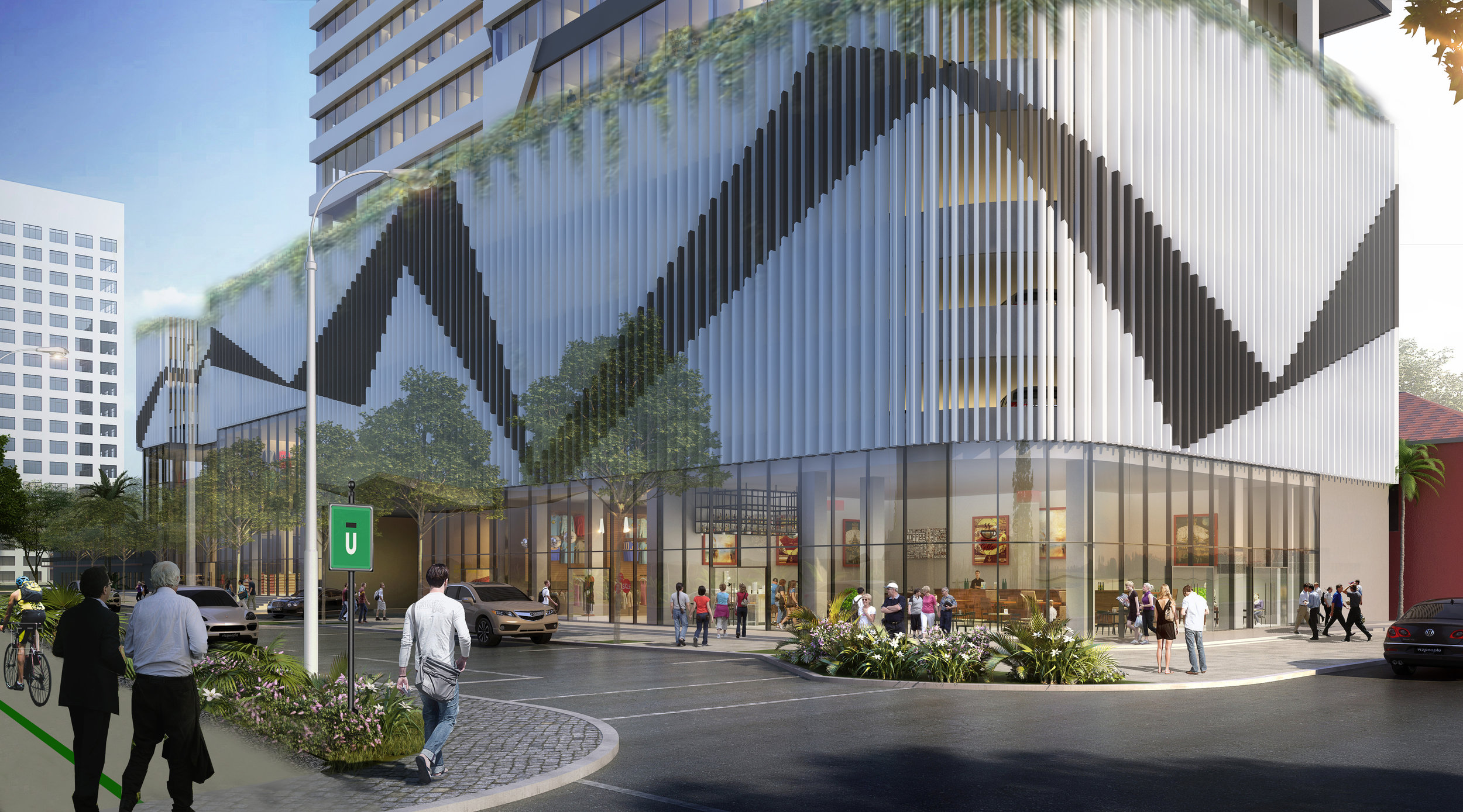 AC Hotel By Marriott & Element By Westin Rendering