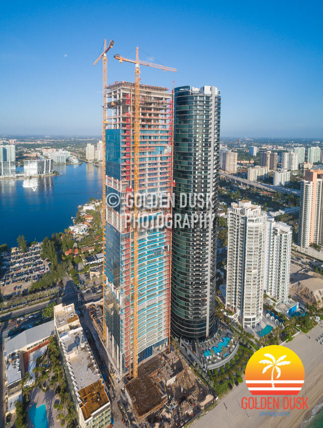 Turnberry Ocean Club Residences Topped Off