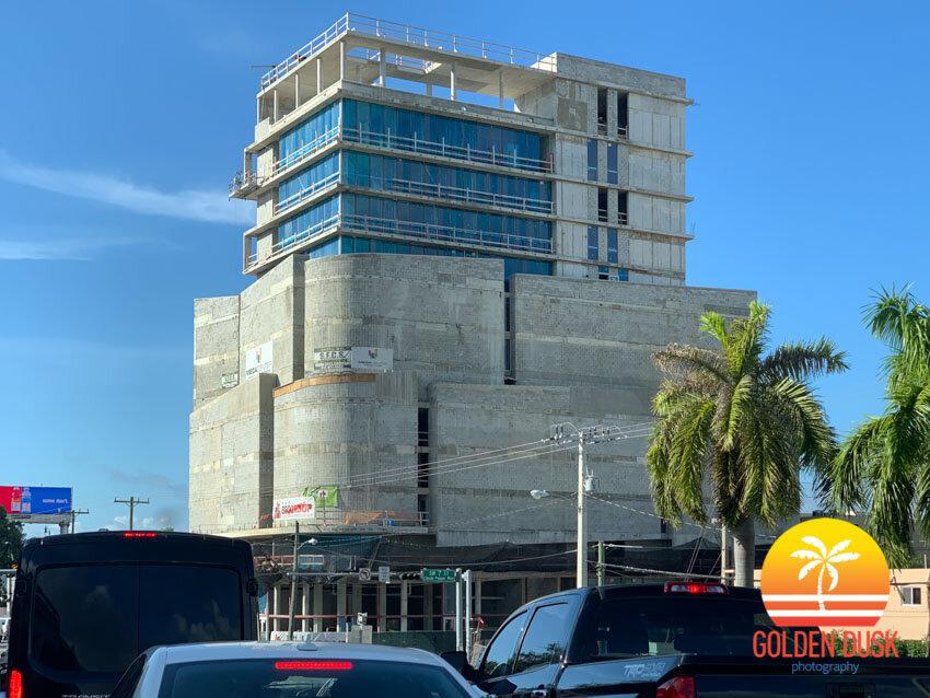 Megacenter Brickell Construction