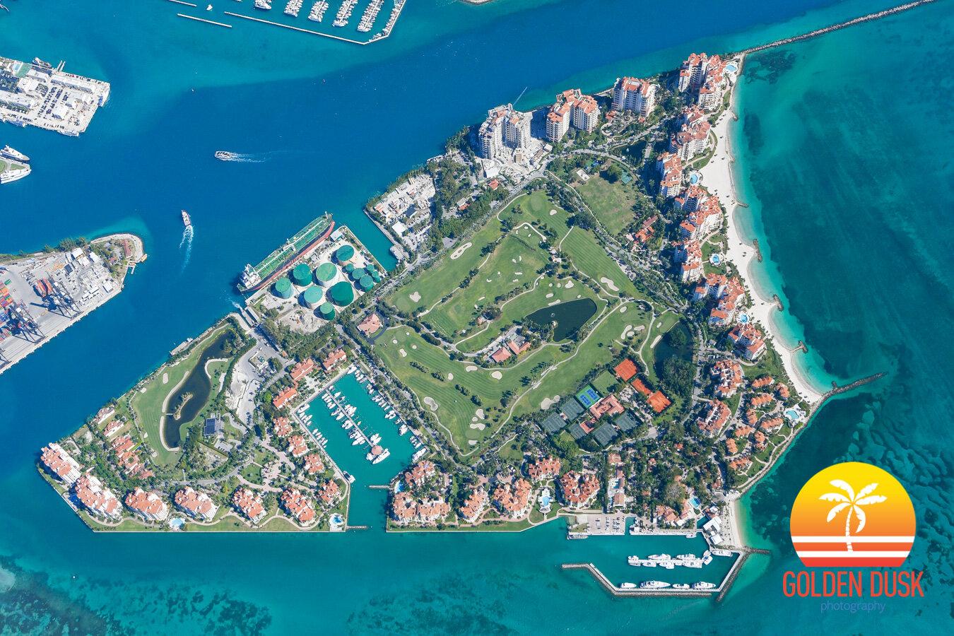Over Fisher Island 2