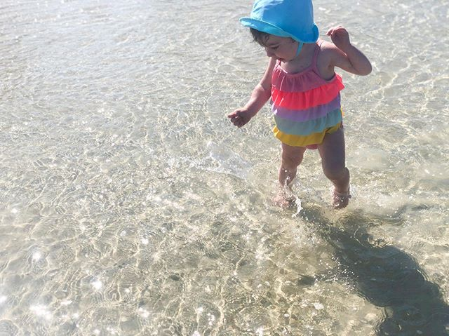 6.26.19// Girl loves water. So fun to watch. #amberellenw #bbeachweek19