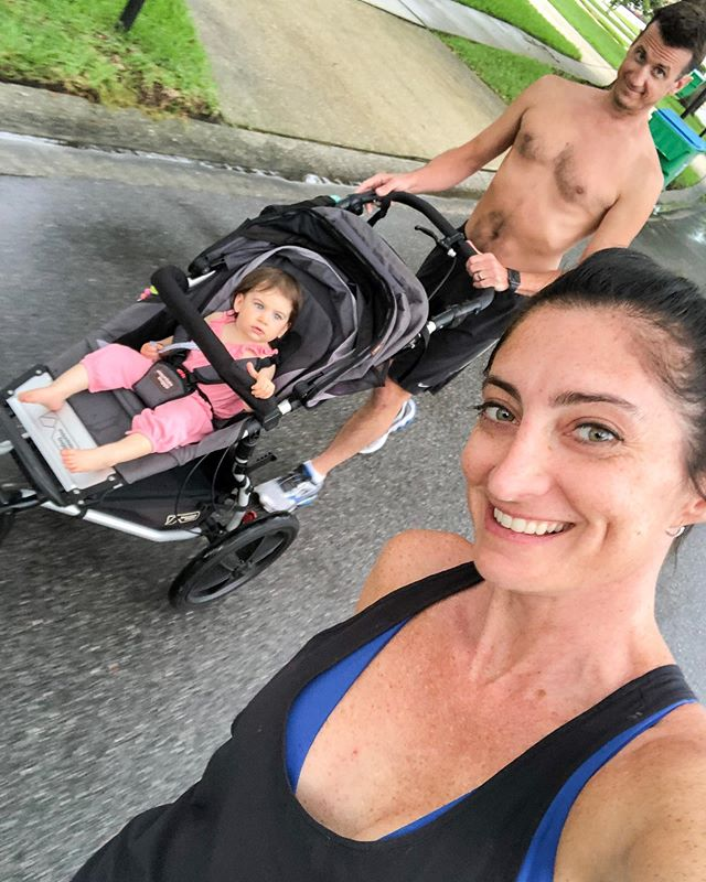 7.9.19// First (finally) family run yesterday evening! For a girl that loves running and Florida evenings after a rain, it was perfect. #latergram #amberellenw