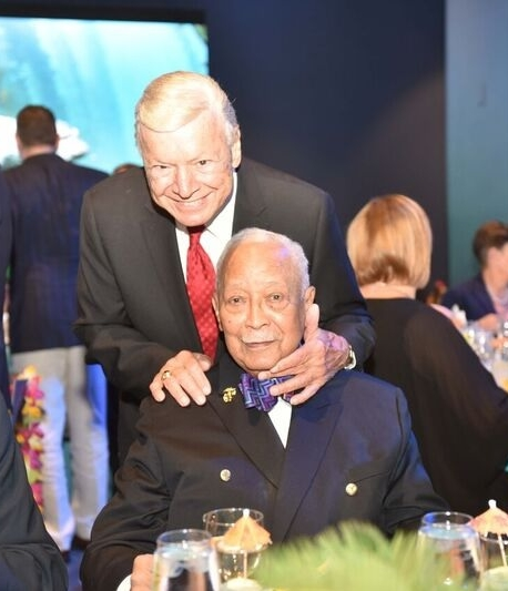Lifetime Achievement Award Honorees, Mayor David N. Dinkins and Former NYC Council Speaker Peter Vallone Sr.