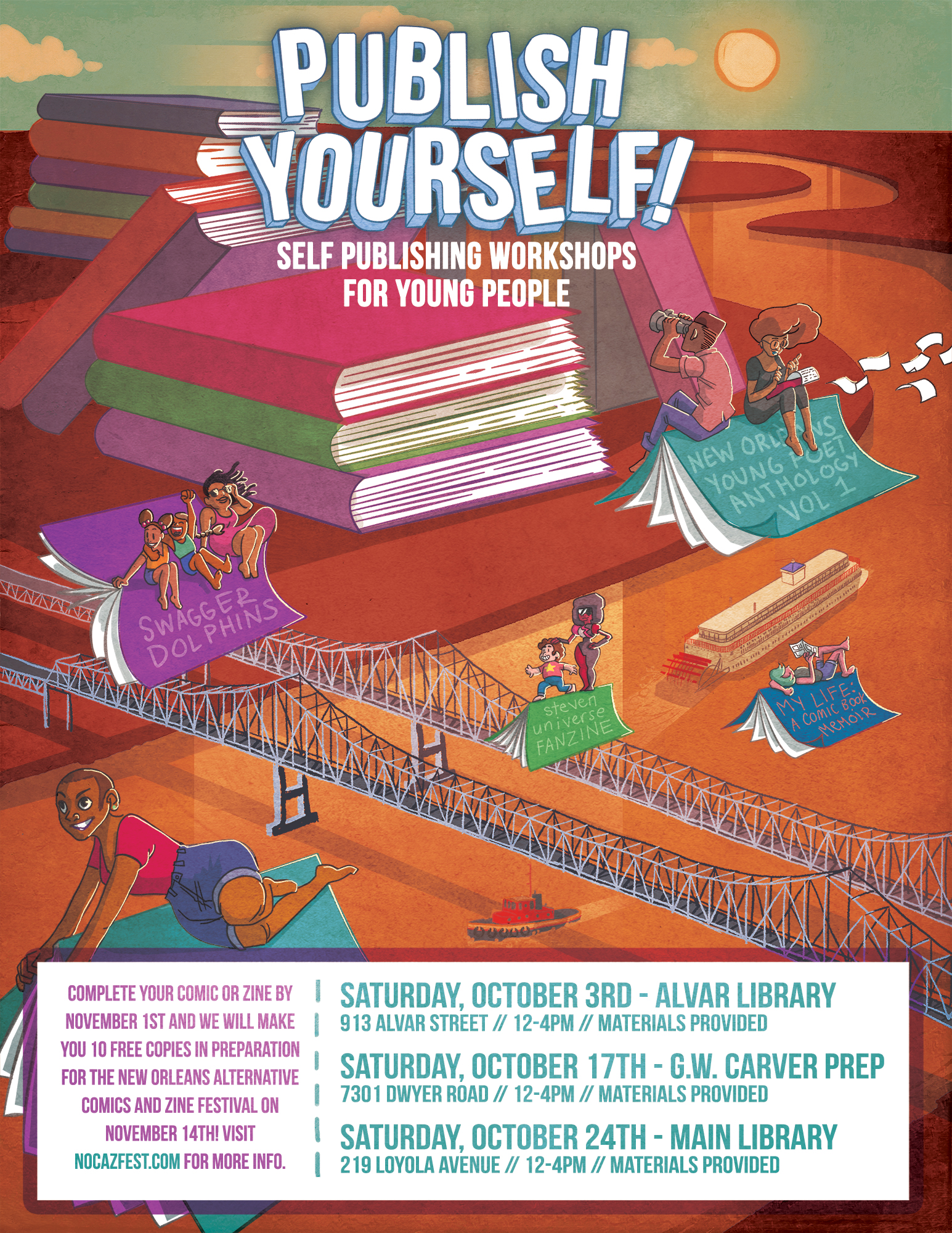 Publish Yourself! Workshop Poster