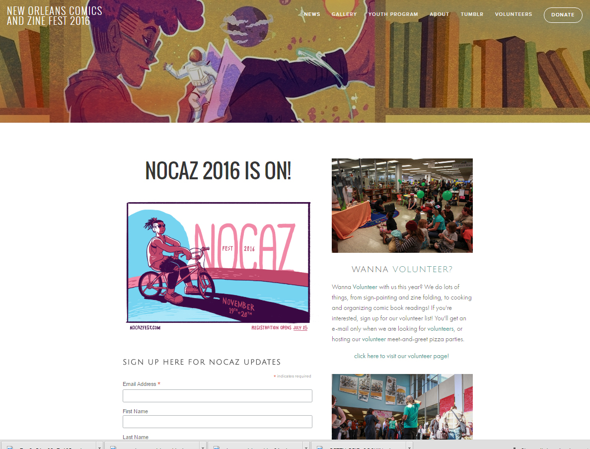 New Orleans Comic and Zine Festival (NOCAZ)