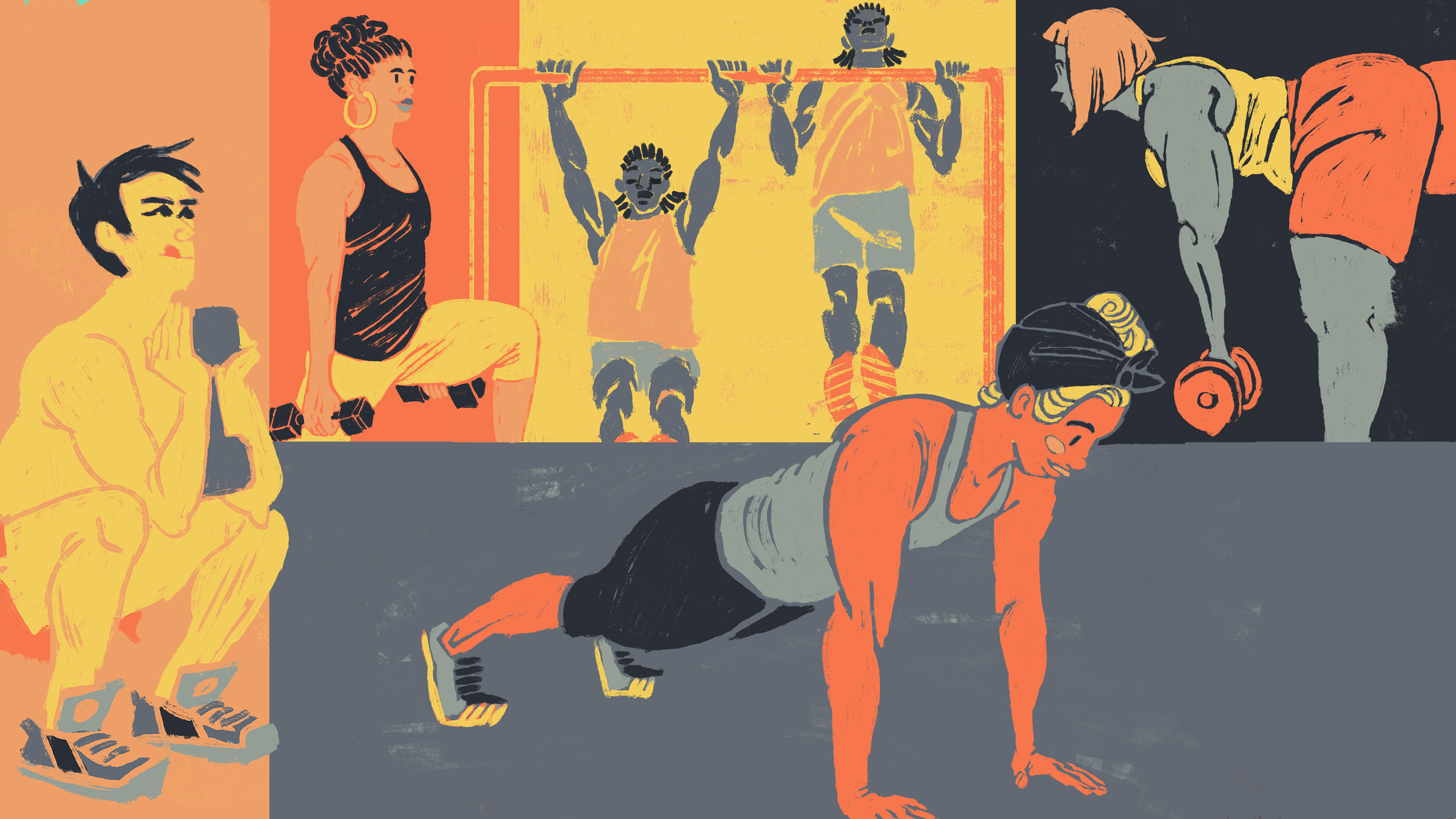 Outside Magazine- The Mininimalist's Strength Workout