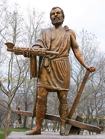 """Lucius Quinctius """"Cincinnatus"""" - Cincinnatus became a legend in the Roman empire and later in history of service to others. Twice granted supreme power, he held onto it for not a day longer than absolutely necessary. He consistently demonstrated great honorability and integrity. Later, George Washington also was twice asked serve and granted supreme power. Then he went home both times after honorable service. He became know as American Cincinnatus.Why am I sharing this? ….. Yeah stand by!"""