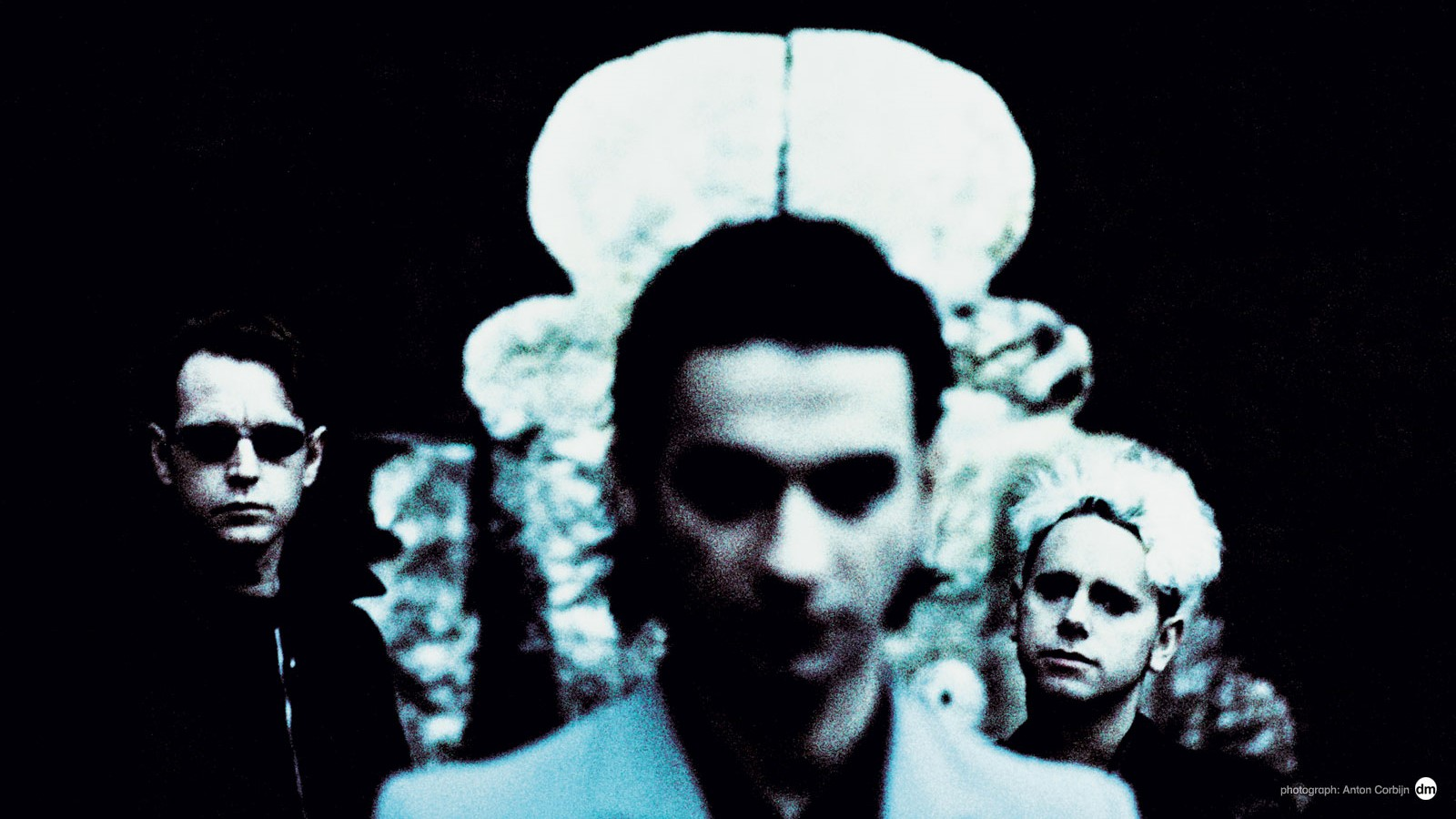 Ultra Mode (From Left to Right: Andy Fletcher, Dave Gahan, Martin Gore) | Photo via DepecheMode.com