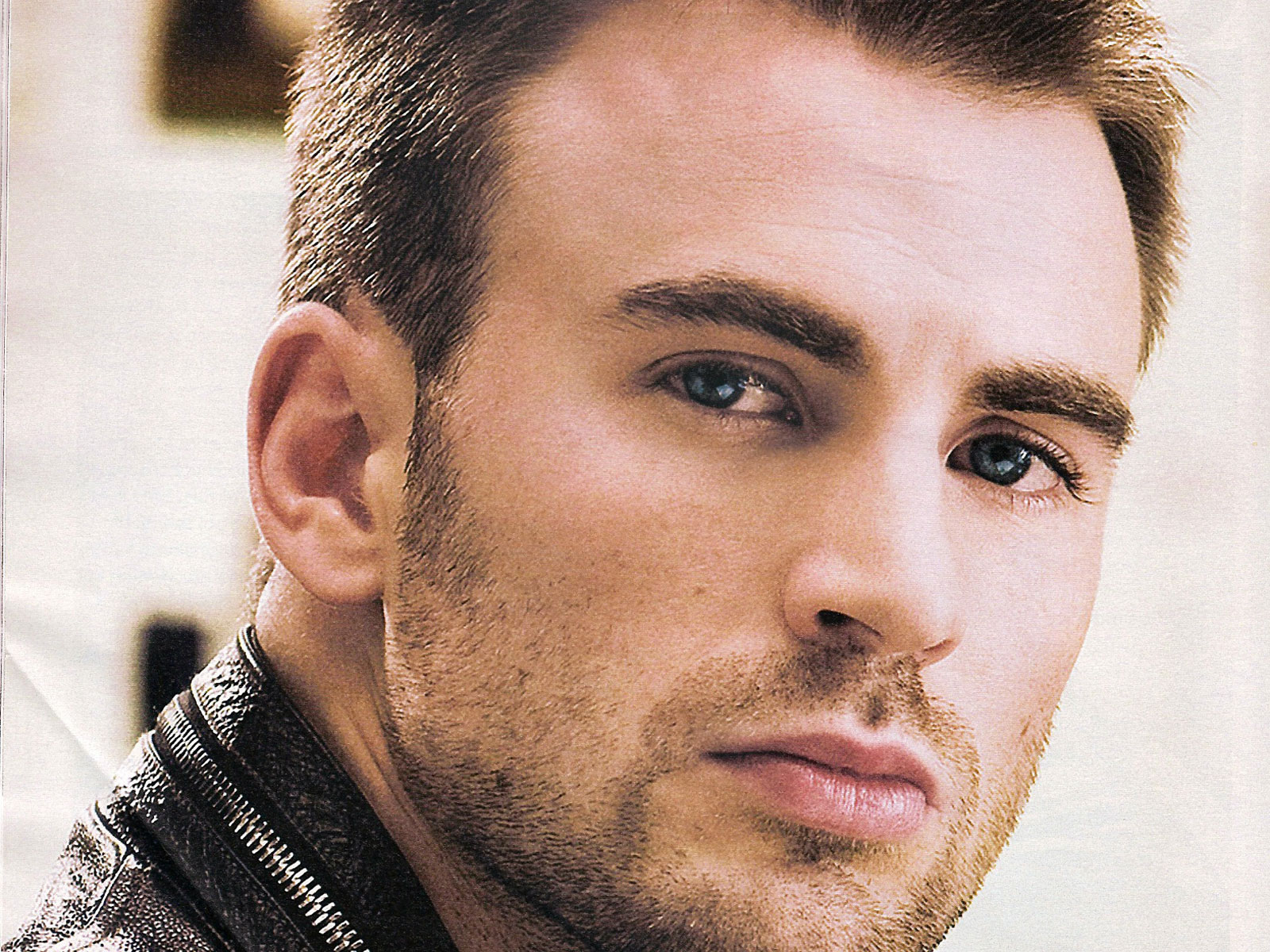 Chris Evans, who has no connection to  Maxim Ultra  outside my imagination.