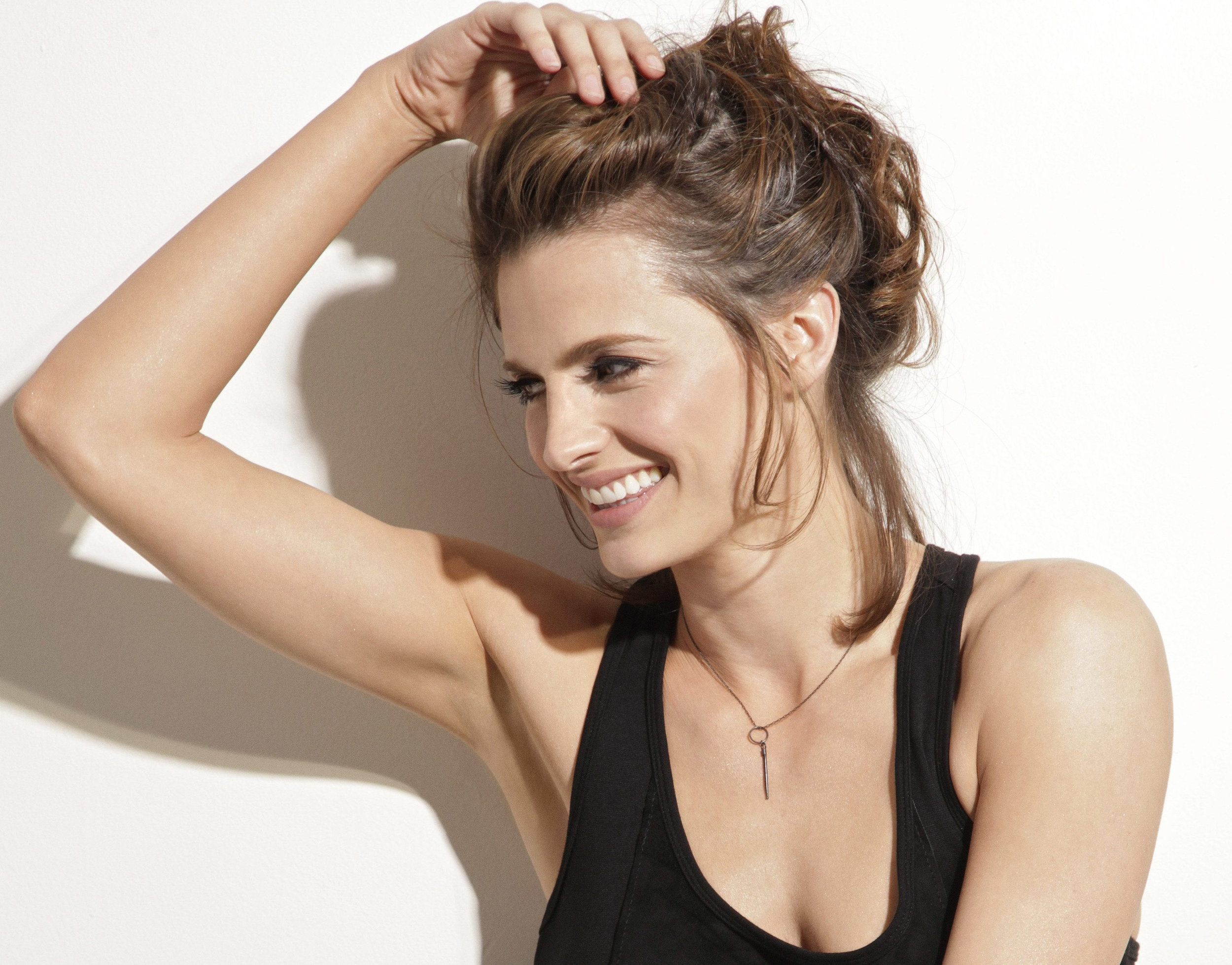 Stana Katic, who has no connection to  Maxim Ultra  outside my imagination.