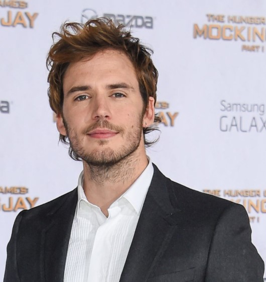 Sam Claflin, who has no connection to  Maxim Ultra , outside my imagination.