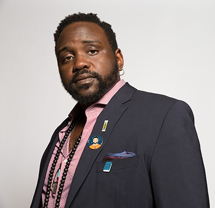 Brian Tyree Henry, who has no connection to  Maxim Ultra  outside my imagination.