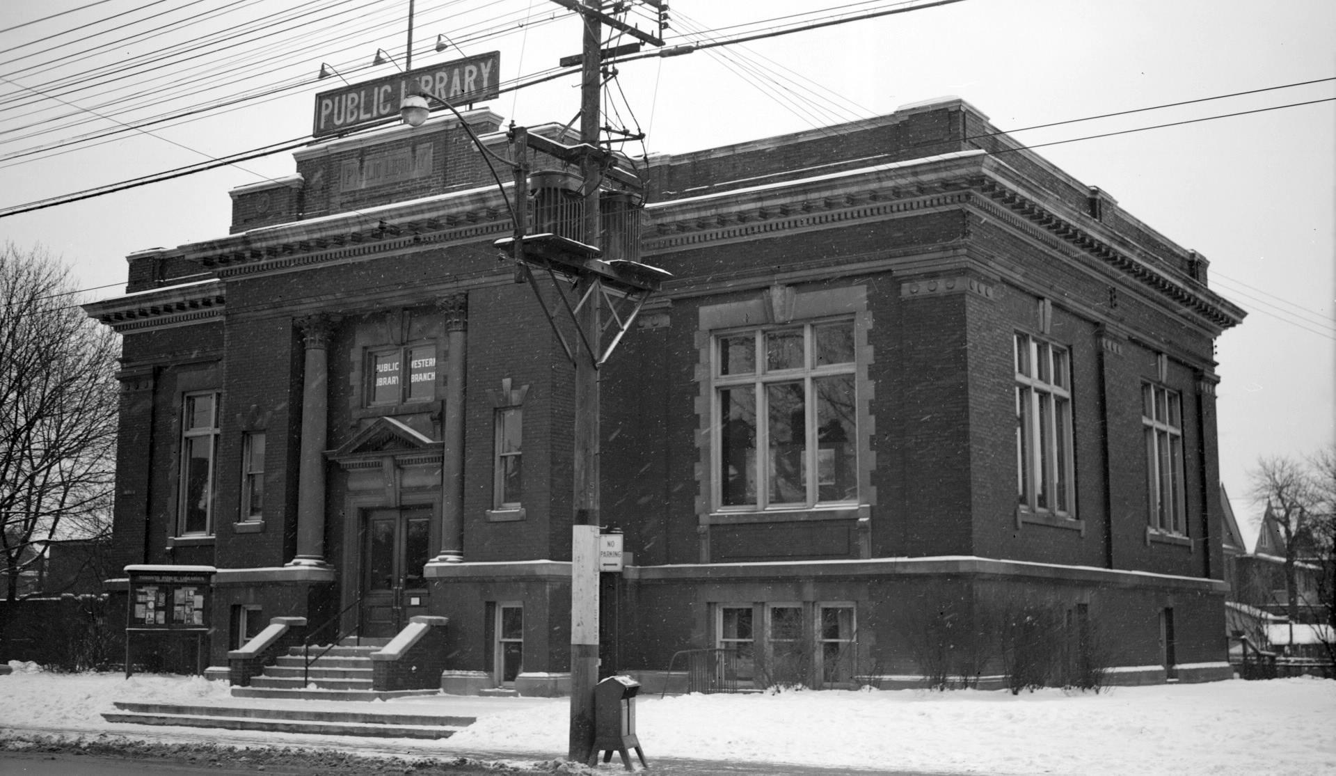 Annette Branch, 1953. Toronto Public Library Digital Archive.