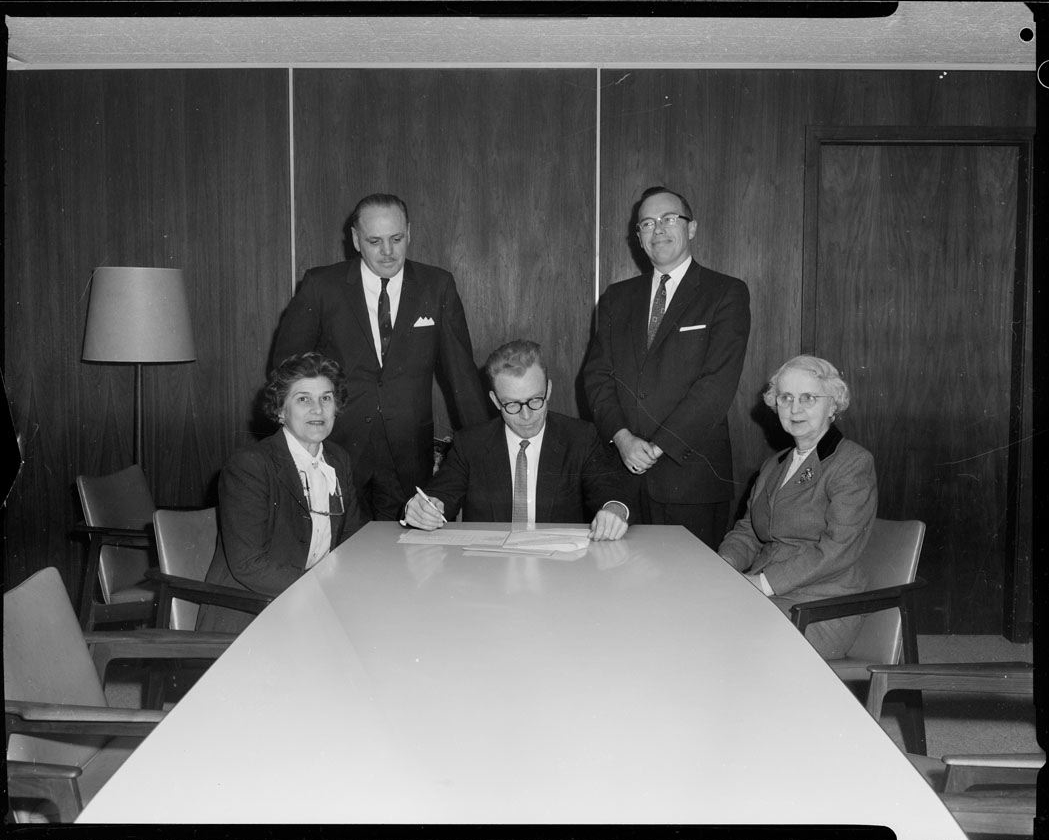 North York Library Board, 1960. City of Toronto Archives, City of North York Fonds 217, Series 249, File 316.
