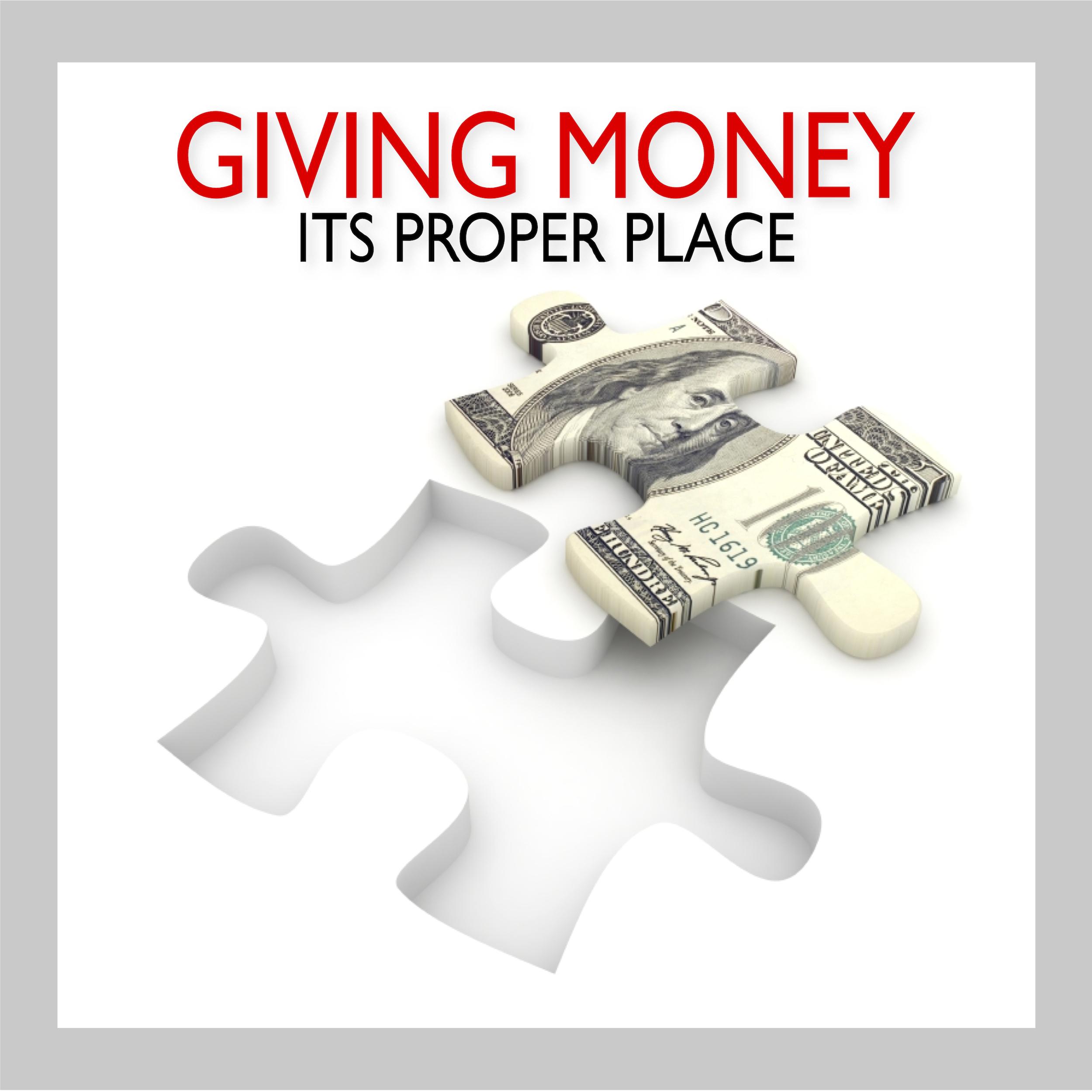 Giving Money Proper Place 1.jpg