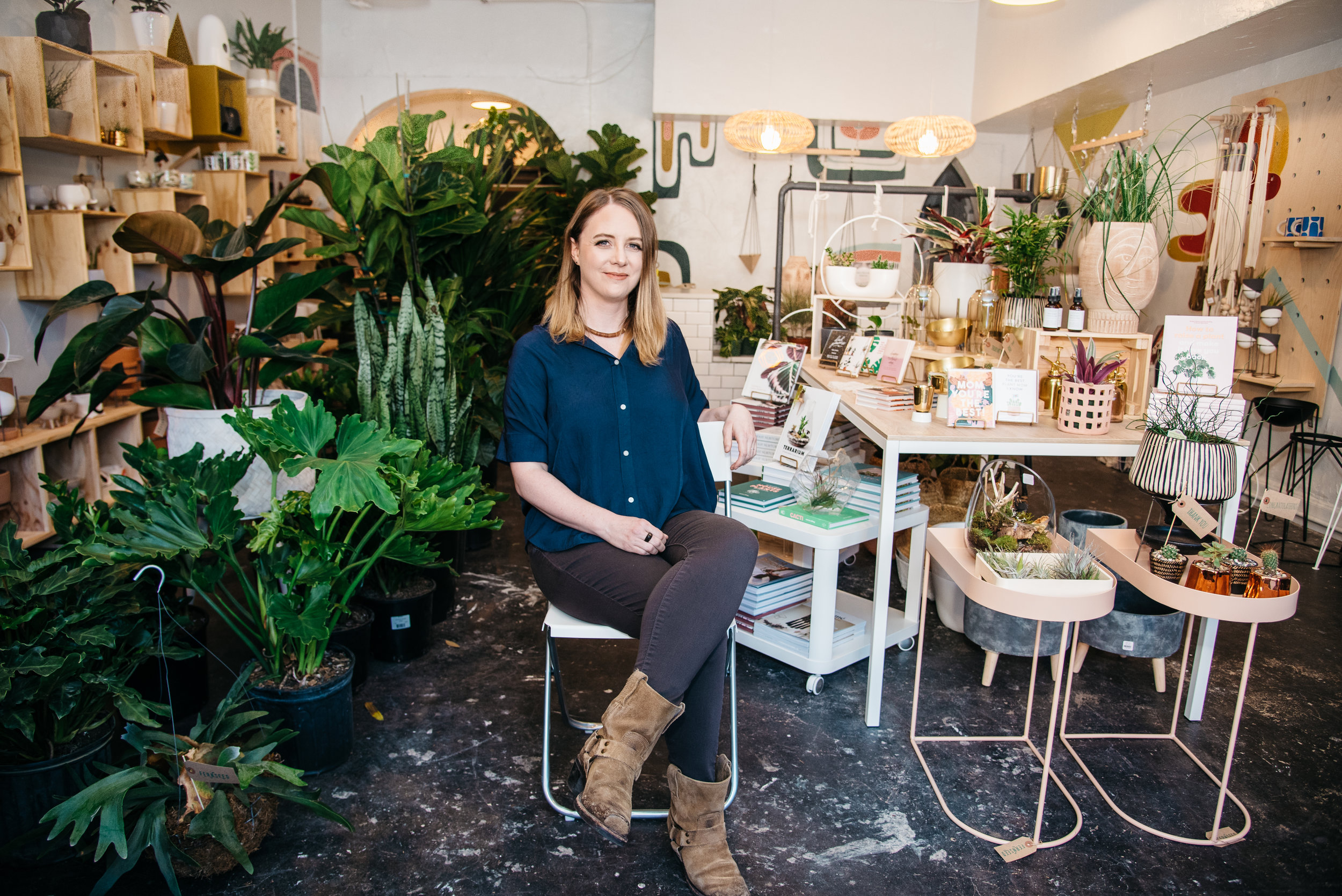 Meet Katherine - Owner of a new plant shop in Proctor neighborhood of Tacoma.