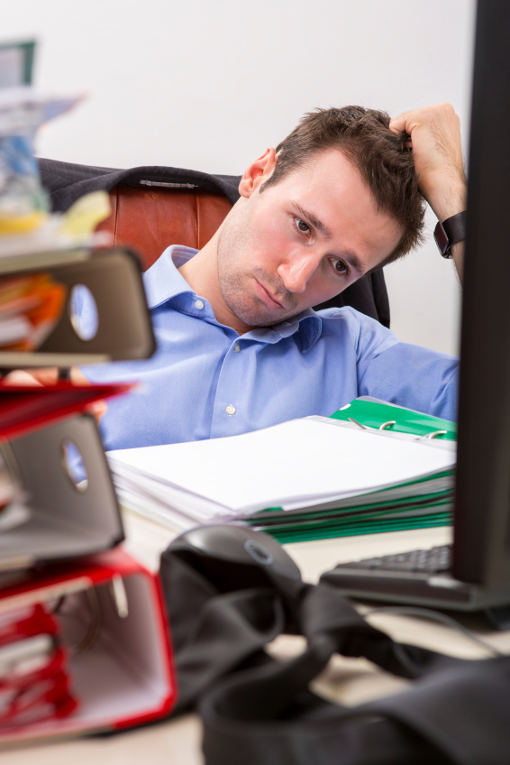 Many people experience high degrees of stress at work