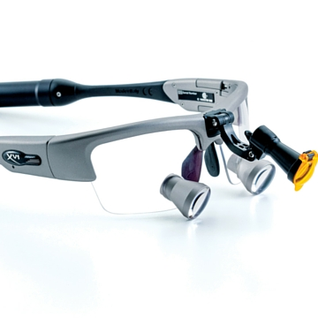 Loupes With A Head Lamp