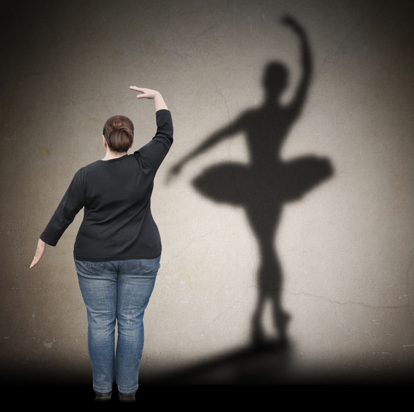 Obese person with ballerina shadow.jpg