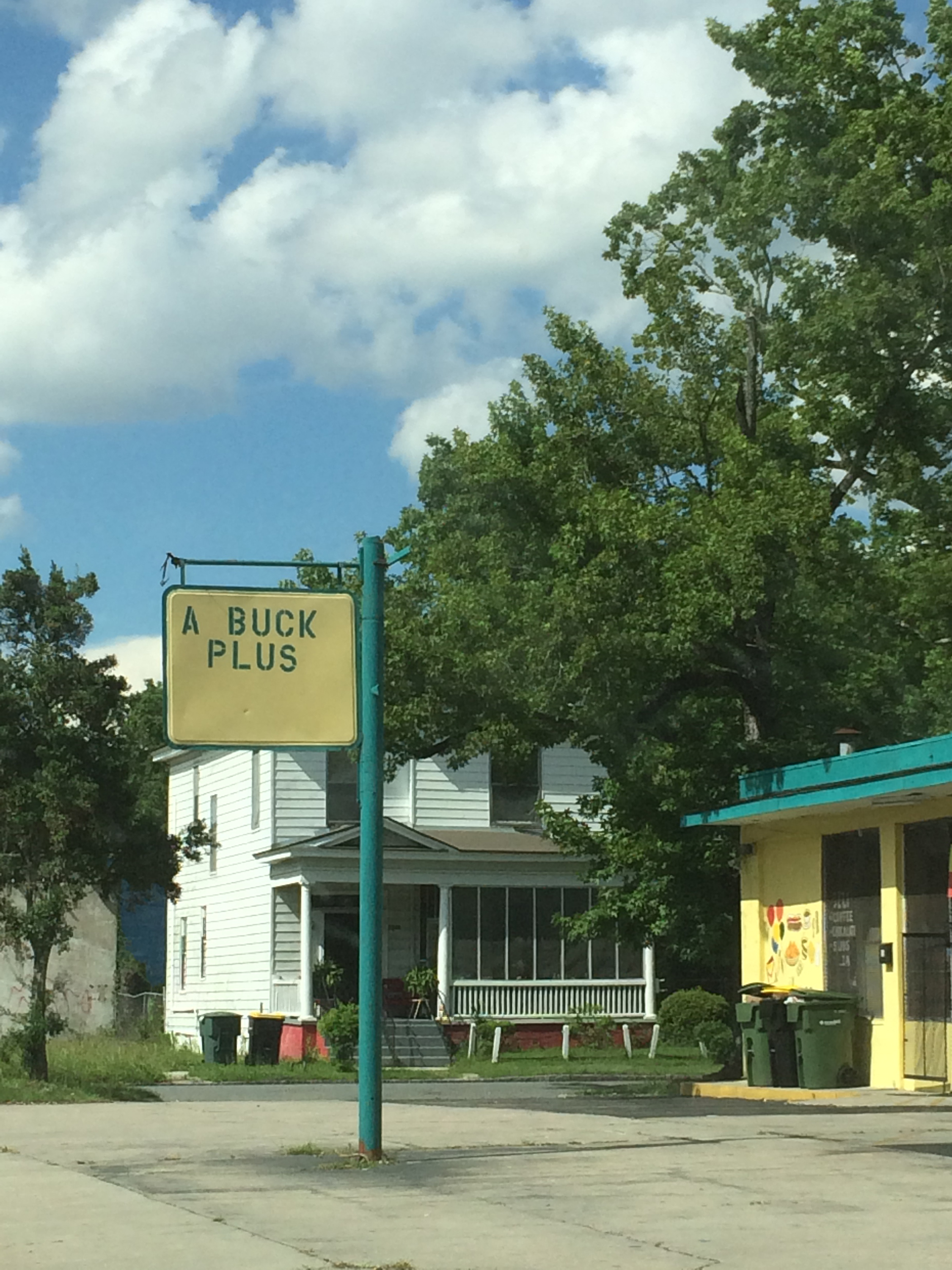 A convenience store on Waters Ave.