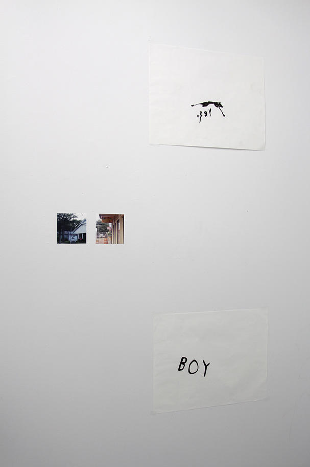 Yes Boy , printed images, ink on paper, 2015