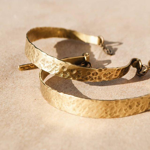 For Him. For Her. For Them.  Hammered cuffs available Friday. . . . . #thesilverfeather #jewelryformen #jewelleryformen #armcuff #ethicalfashion #ethicaljewellery #ethicalbrand #brassjewelry #metalwork #handforged