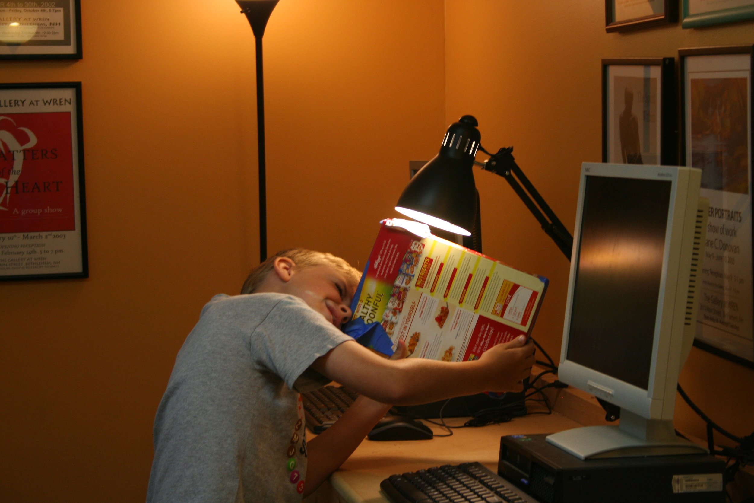 Cereal Box Spectroscope:  Don't throw away your cereal boxes. Save them to learn about the awesome properties of light.