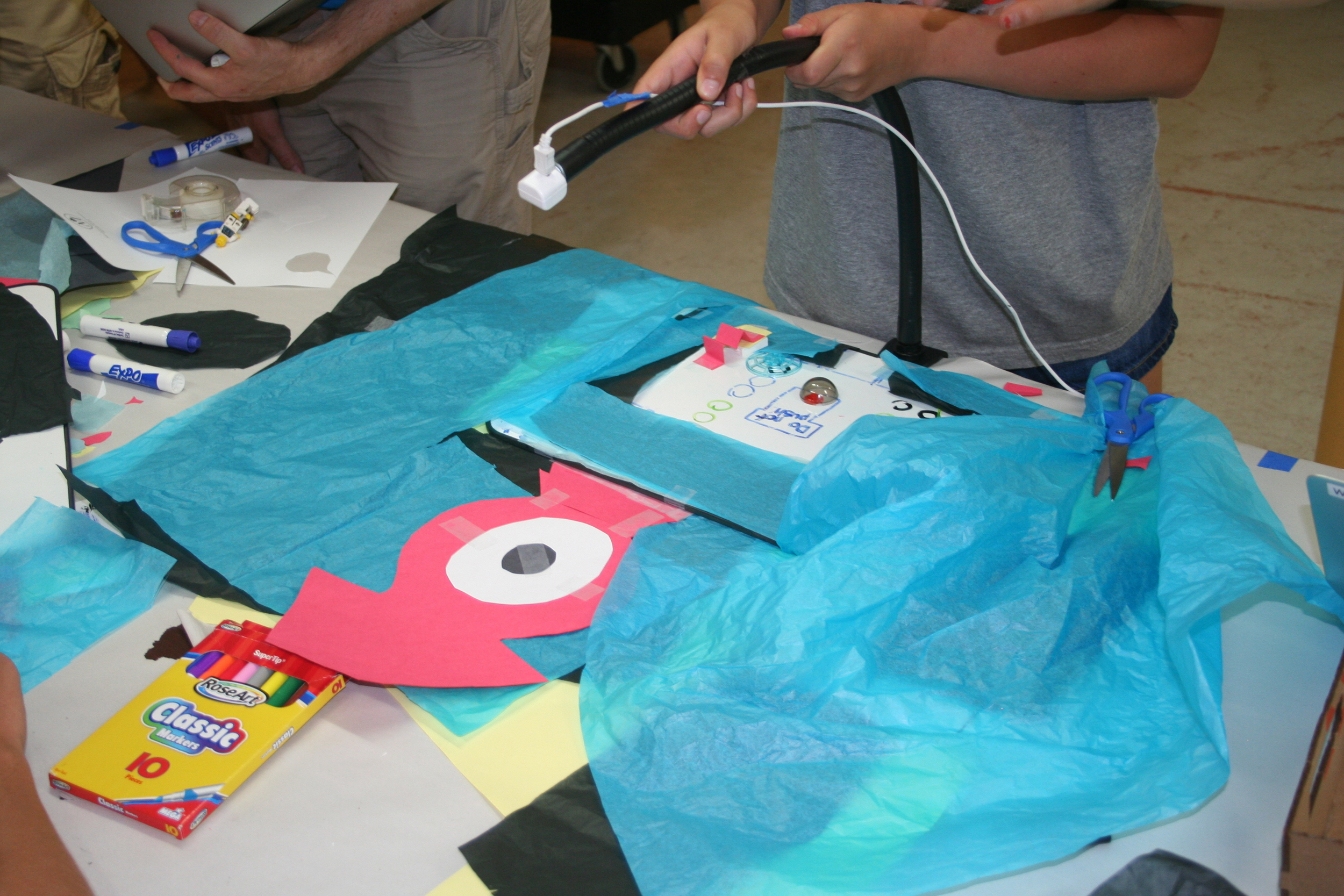 Stop-Motion Film:  With some arts and crafts supplies and a camera, you can make your very own animation film.