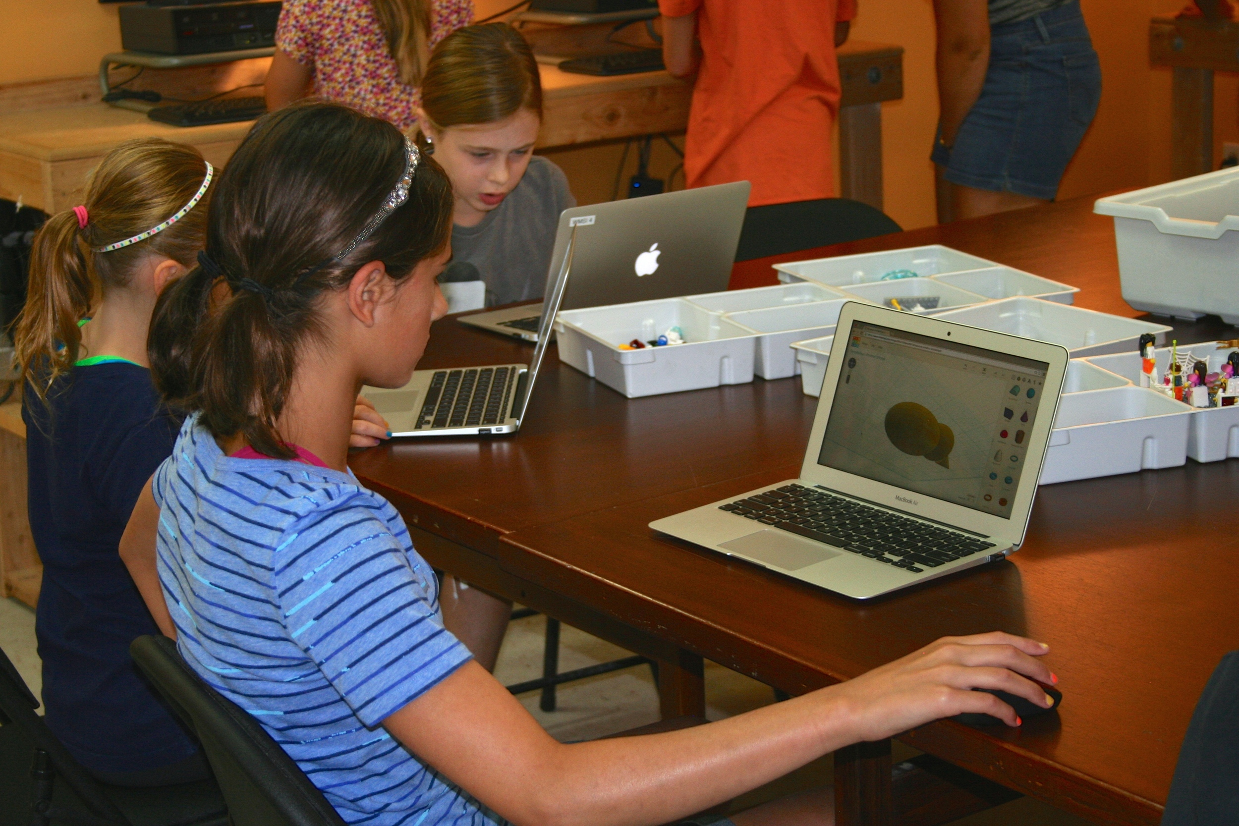 Tinkercad:  Engineering skills are right at your fingertips when designing 3D object in this free software.