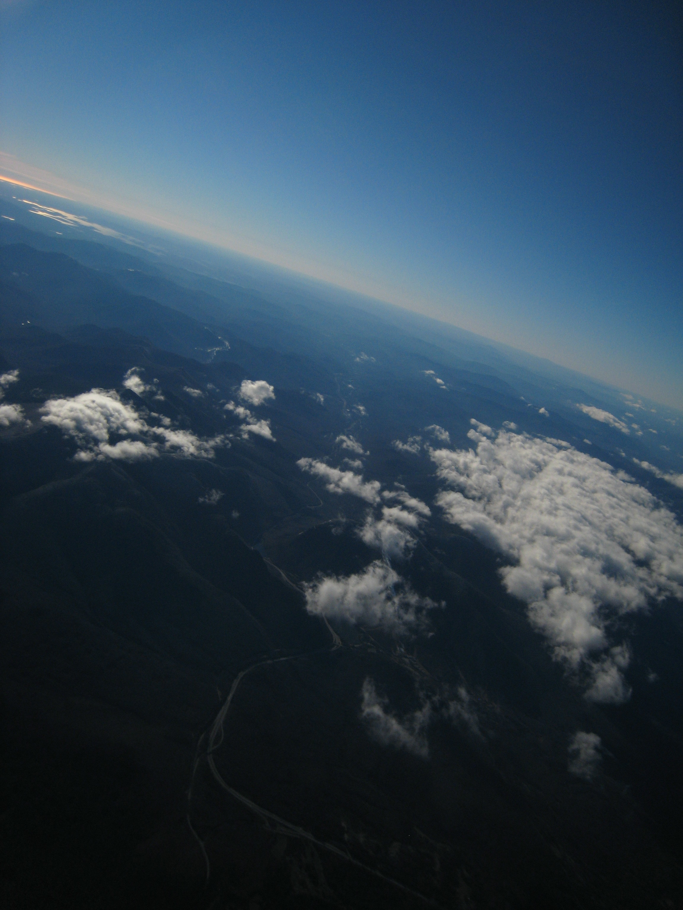 A view from 4,170 meters or about 13,000 feet up.