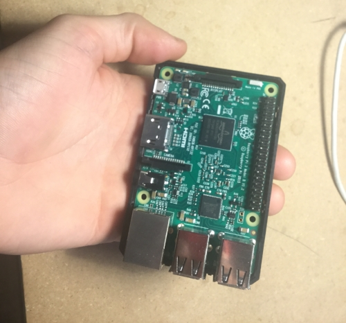"The Raspberry Pi, a $40 ""handheld"" computer"