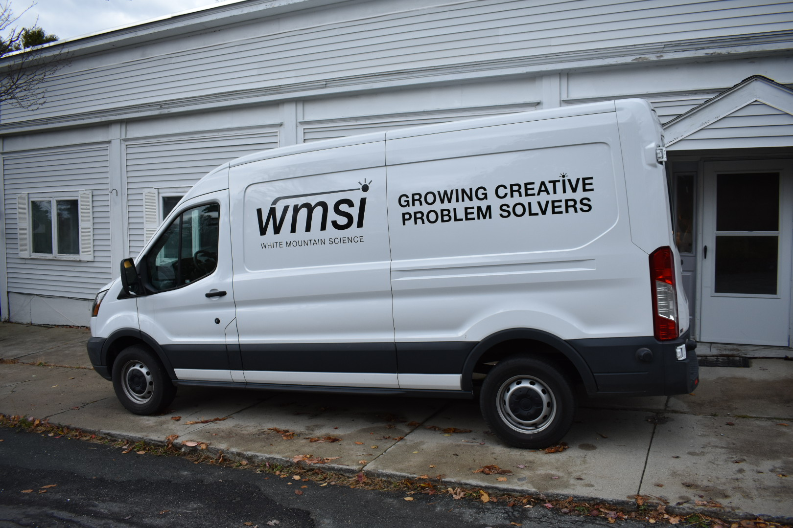 You can see our Mobile STEM Lab van anywhere in Northern New Hampshire!