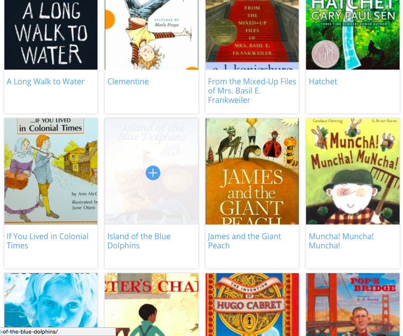 A reading list for Novel Engineering project lessons