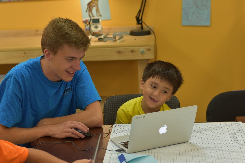 Photo: Mike Carmon, Maker Camp -- Summer 2018