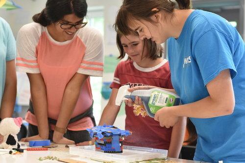 Photo: Lisa Schott, Inventor's Camp for Girls -- Summer 2019